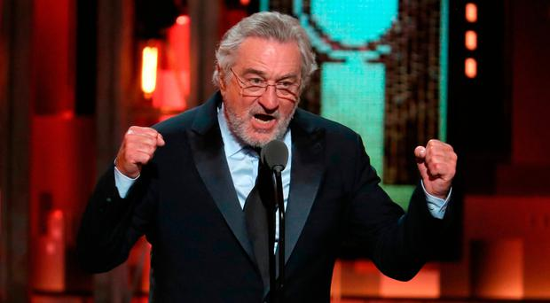 President hits back at 'punch-drunk' De Niro after 'F-bomb'
