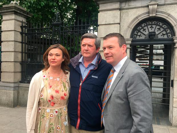 Mignon and Derek Underwood have been working with Labour TD Alan Kelly on a new piece of legislation (Photo: Independent.ie/Laura Larkin)