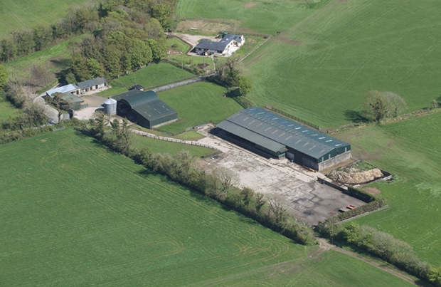With the exception of half an acre situated across the road from the entrance, the land is set out in one block that features six primary divisions. Image: Goffs Property