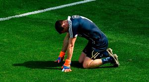Stephen Cluxton suffered injury against Longford
