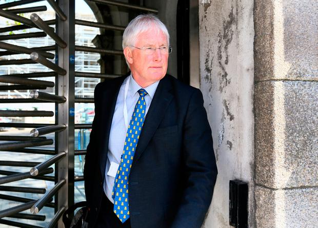 HSE acting chief John Connaghan at Leinster House. Picture: Frank McGrath