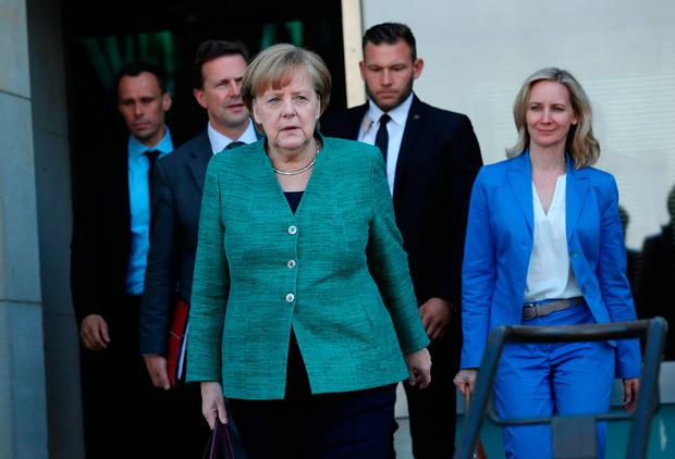 Merkel says Germany can not achieve North Atlantic Treaty Organisation defense spending target