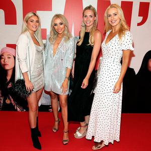 Niamh Cullen, Rosie Connolly, Judy Gilroy and Ursula Kelly at the Irish Premiere screening of Oceans 8 at The Savoy Cinema, Dublin. Picturey: Brian McEvoy