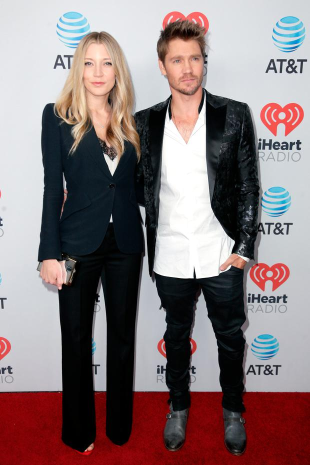Sarah Roemer (L) and Chad Michael Murray attend the 2017 iHeartCountry Festival, A Music Experience by AT&T at The Frank Erwin Center on May 6, 2017 in Austin, Texas. (Photo by Bob Levey/Getty Images for iHeartMedia )