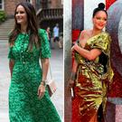 (L to R) Sweden's Princess Sofia, Rihanna, Bryce Dallas Howard and Ruth Negga