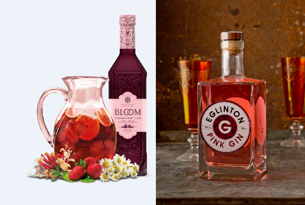 Bloom and Eglington pink gins.