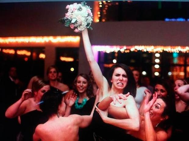 Love, not war: Wedding hook-ups are more common than a bouquet fight