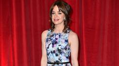 Coronation Street's Toyah Battersby has told her partner Peter Barlow that their baby is not theirs. (Matt Crossick/PA)