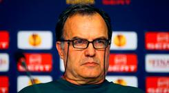 """'Bielsa, once described by Manchester City's Pep Guardiola as """"the best manager in the world"""", is one the most influential football minds of his generation.' Photo: PA"""