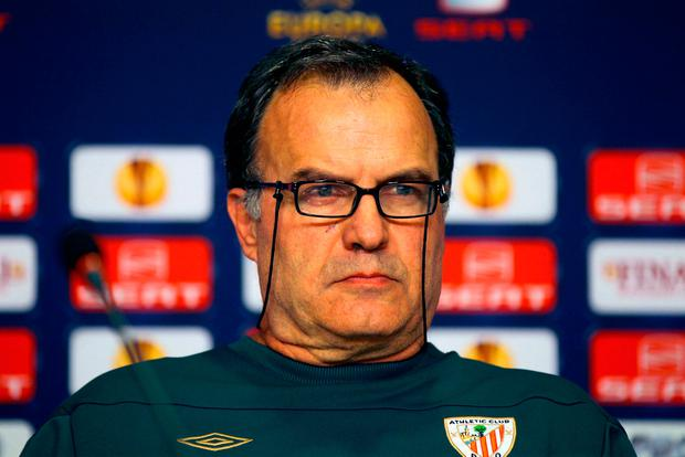 "'Bielsa, once described by Manchester City's Pep Guardiola as ""the best manager in the world"", is one the most influential football minds of his generation.' Photo: PA"