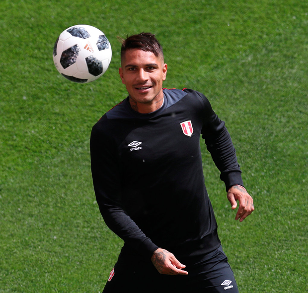 And the mood has only improved since Paolo Guerrero, the nation's all-time leading scorer, was given leave to play in the tournament Photo: Reuters