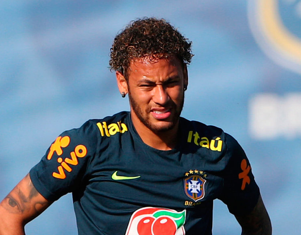 Neymar (below) is the face of Red Bull, Pilao coffee and Prohibida beer, so you can drink like him at any time of the day. Photo: Reuters