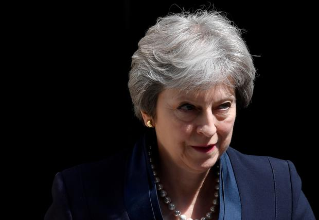 Britain's Prime Minister Theresa May. Photo: Toby Melville/Reuters