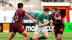 7 June 2018; James McCarthy of Ireland during the World Rugby U20 Championship 2018 Pool C match between Georgia and Ireland at the Stade d'Honneur du Parc des Sports et de L'Amitie in Narbonne, France. Photo by Stéphanie Biscaye / World Rugby via Sportsfile