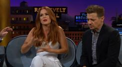 Isla Fisher on the Late Late Show with James Corden