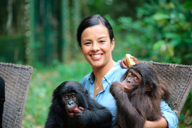 Liz Bonnin, whose family moved to Dublin when she was nine years old, says she would 'never be suited to a regular job'*