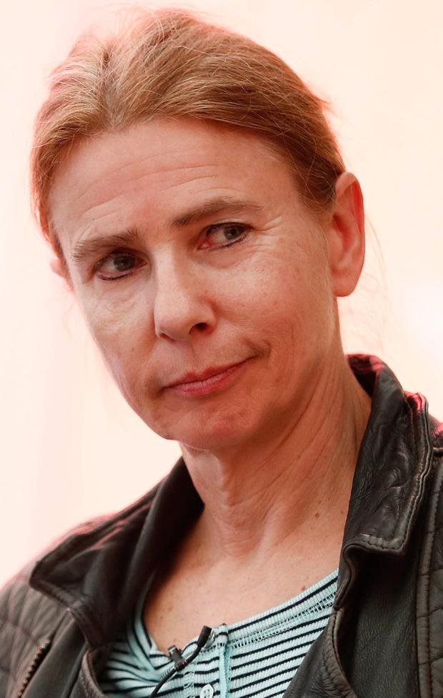 Lionel Shriver, who spoke at the Festival yesterday. Photo: Conor McCabe Photography