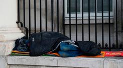 'There was further related good news last week, with news that the pace of rent increases is slowing, up less than 2pc in the last six months, the numbers of homeless 'rough sleepers' down 40pc, and the numbers in emergency accommodation also levelling off.' Photo: Brian Lawless