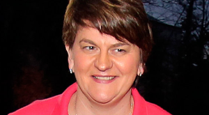 INCLUSIVE: Arlene Foster wants DUP to broaden appeal Pic: AFP/Getty