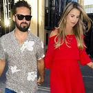 Spencer Matthews and Vogue Williams. PIC: Vogue Williams/Instagram