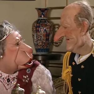 A scene from Spitting Image. PIC: YouTube