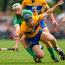 17 June 2018; Tony Kelly of Clare in action against Cian Lynch of Limerick during the Munster GAA Hurling Senior Championship Round 5 match between Clare and Limerick at Cusack Park in Ennis, Clare. Photo by Ray McManus/Sportsfile