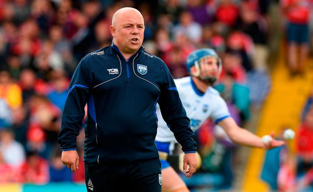 Waterford manager Derek McGrath. Photo: Matt Browne/Sportsfile