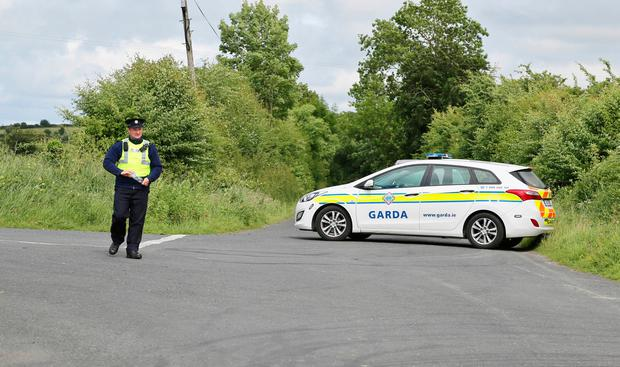 The scene of the discovery of a man's body at Ballybane, Co Cork. Picture: Provision