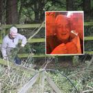 John Gilligan spotted in 2016 at the Jessbrook complex and inset, images Gilligan shared on social media of his new love