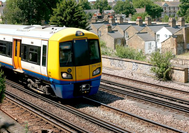 Three killed by a train in south London