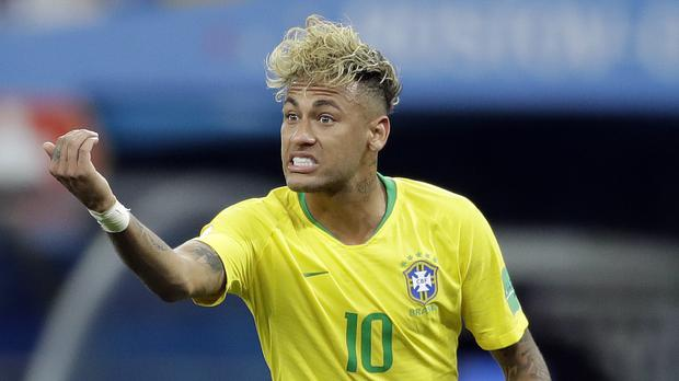Neymar had a makeover before Sunday's match with Switzerland (Felipe Dana/AP)