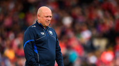 17 June 2018; Waterford manager Derek McGrath during the Munster GAA Hurling Senior Championship Round 5 match between Waterford and Cork at Semple Stadium in Thurles, Tipperary. Photo by Matt Browne/Sportsfile