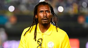 Senegal boss Aliou Cisse is the only black manager at the World Cup. Photo: AFP/Getty Images