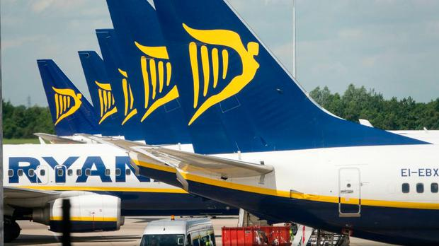 Ryanair flight was disrupted