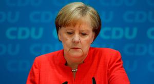 German Chancellor and leader of the German Christian Democrats (CDU) Angela Merkel. Photo: Sean Gallup/Getty Images
