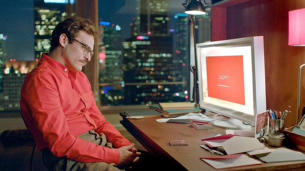 A virtual reality: Joaquin Phoenix falls for a chatbot voiced by Scarlett Johansson in the movie HER