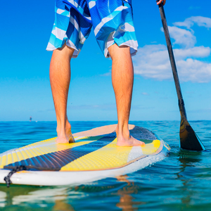 Popular: Paddle boarding is easy to do and relaxing