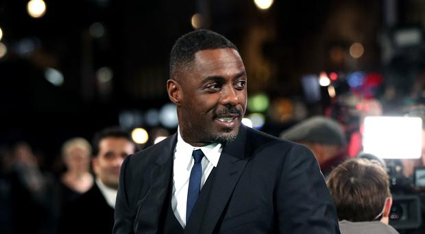 Idris Elba attending the UK Premiere of Molly's Game, at Vue West End, Leicester Square, London.