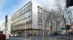 The bank has rented out offices at One Molesworth Street in Dublin's city centre