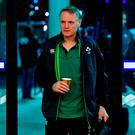 Ireland head coach Joe Schmidt arrives prior to the 2018 Mitsubishi Estate Ireland Series 2nd Test match between Australia and Ireland at AAMI Park, in Melbourne, Australia. Photo by Brendan Moran/Sportsfile