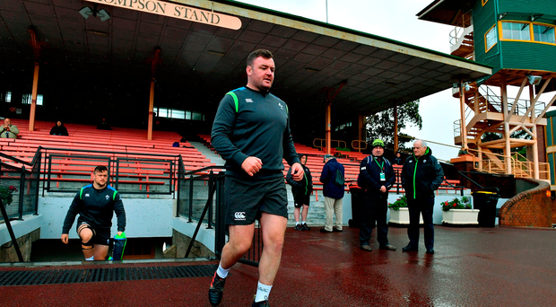 Munster prop Dave Kilcoyne trains with Ireland ahead of Sydney decider as fears grow over Cian Healy