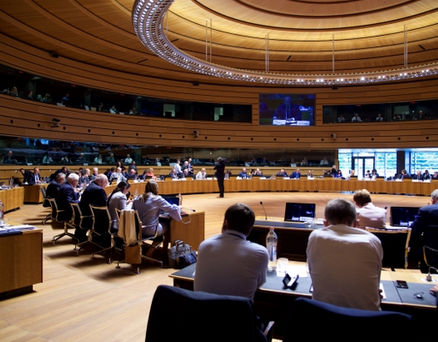 EU Ministers of Agriculture and Fisheries meet on 18 June 2018 in Luxembourg for an exchange of views on the post 2020 CAP reform package and the agricultural market situation. Image: EU