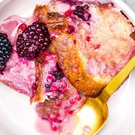 Indy Power's summer sourdough bread pudding