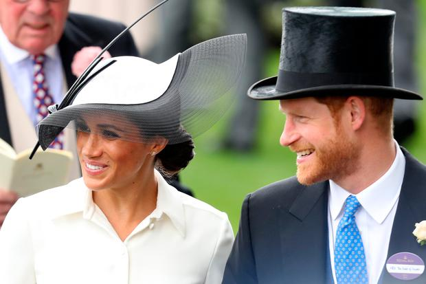 Meghan Markle and Prince Harry attend Royal Ascot Day 1 (Photo by Chris Jackson/Getty Images)