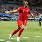 Harry Kane scored a stoppage-time winner for England against Tunisia (Adam Davy/PA)