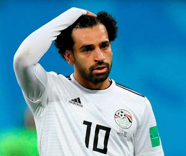 Egypt and Saudi level at halftime after Salah strike, penalty