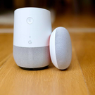 Google Home and Google Home Mini. Photo by Adrian Weckler