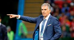 World Cup - Group B - Iran vs Spain - June 20, 2018 Iran coach Carlos Queiroz.