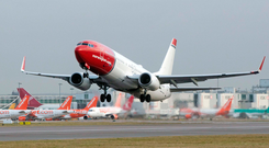 Scandinavian carrier Norwegian is to launch a new route next year between Dublin and Hamilton Toronto Airport. Photo: Bloomberg