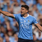 Bernard Brogan of Dublin during the Leinster GAA Football Senior Championship Final match between Dublin and Kildare at Croke Park in Dublin.